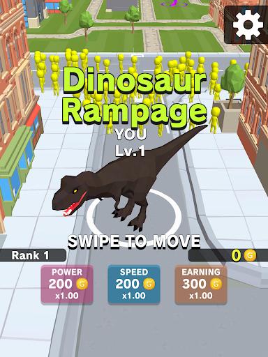 Dinosaur Rampage 4.1 screenshots 6