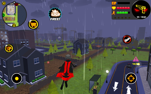Stickman Superhero - screenshot