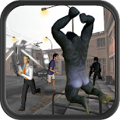 Angry Gorilla City Rampage 3D