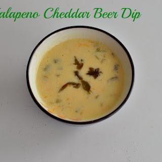 Jalapeno Cheddar Beer Dip