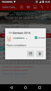 Italia Calendario 2016- screenshot thumbnail