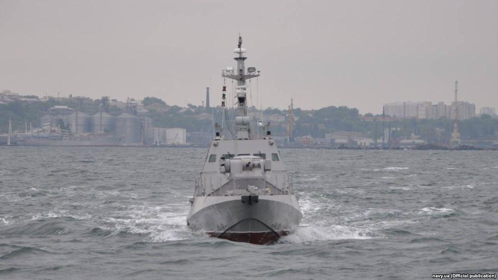 Испытание новых катеров ВМС Украины, июнь 2016 года