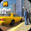 City Taxi Driver 3D Simulator icon