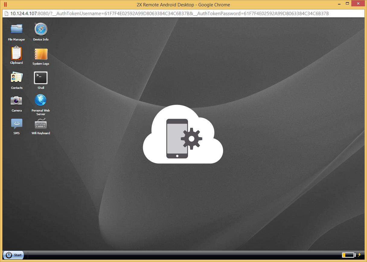 Parallels 2X MDM- screenshot