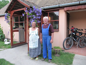 Photo: Day 76 - Dusanka and Veselko Outside Their Home in Bijelo Brdo, Croatia #1