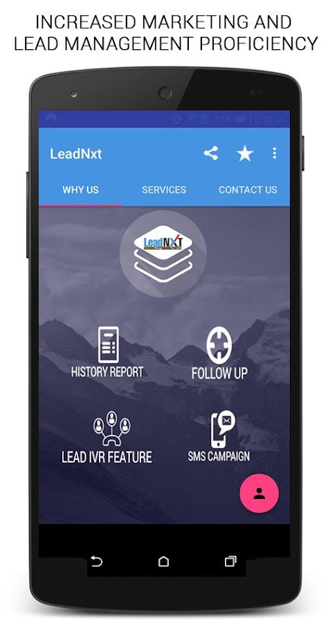 LeadNXT- screenshot