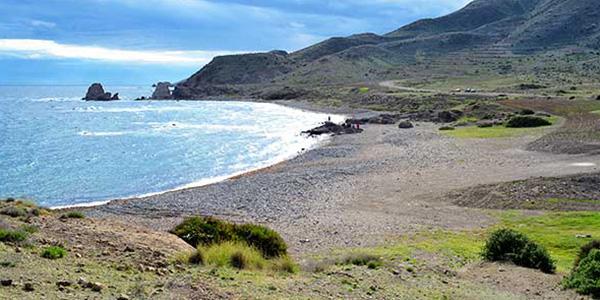 Parque Natural Cabo de Gata-Níjar, playa del Embarcadero.