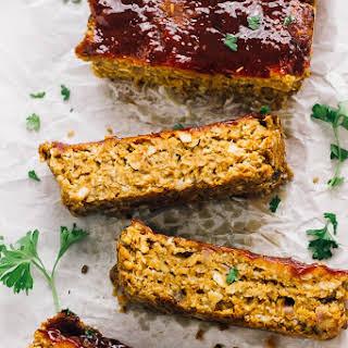 Vegan Meatloaf (Chickpeas & Lentils) Gluten Free.