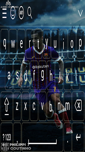 Coutinho FCB keyboard 2018 7.0 screenshots 4