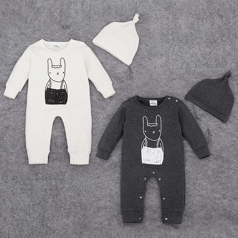 Kombinezon niemowlęcy biały