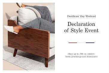 Declaration of Style - Postcard Template