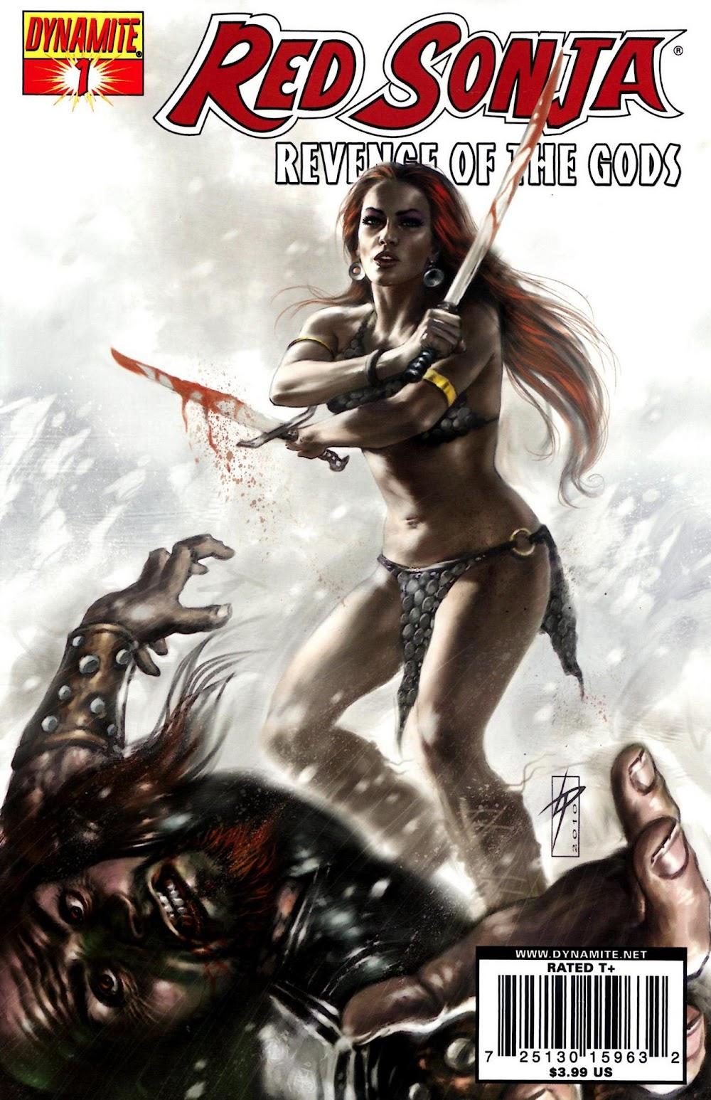 Red Sonja: Revenge of the Gods (2011) - complete