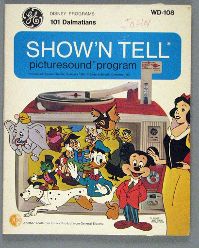 Record | slide:Show'n Tell Picturesound Program: 101 Dalmatians