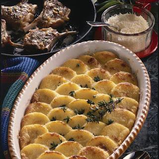 Lamb Chops with Baked Semolina à la Romana