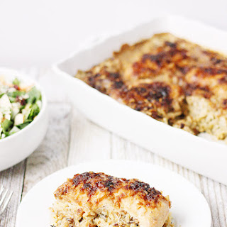 One-Pan No Peek Chicken & Rice.