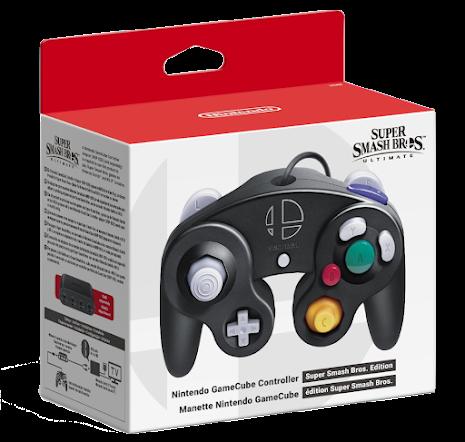 Nintendo Gamecube Controller Super Smash Bros. Edition NEW
