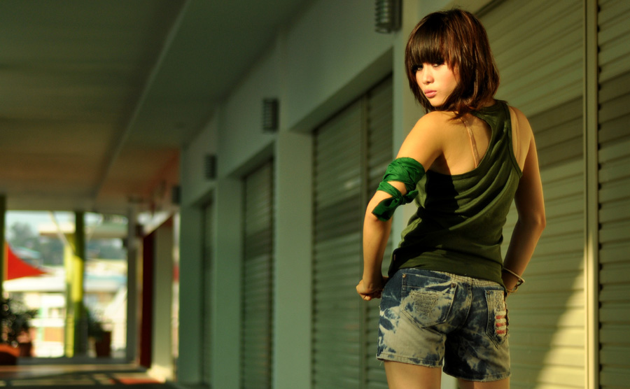 back pose by Astika Arimbawa - People Fashion