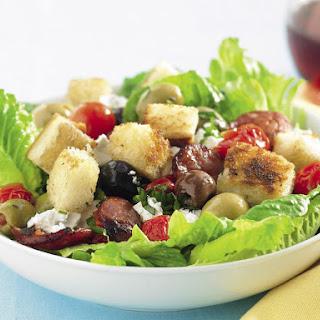 Chorizo and Bread Salad