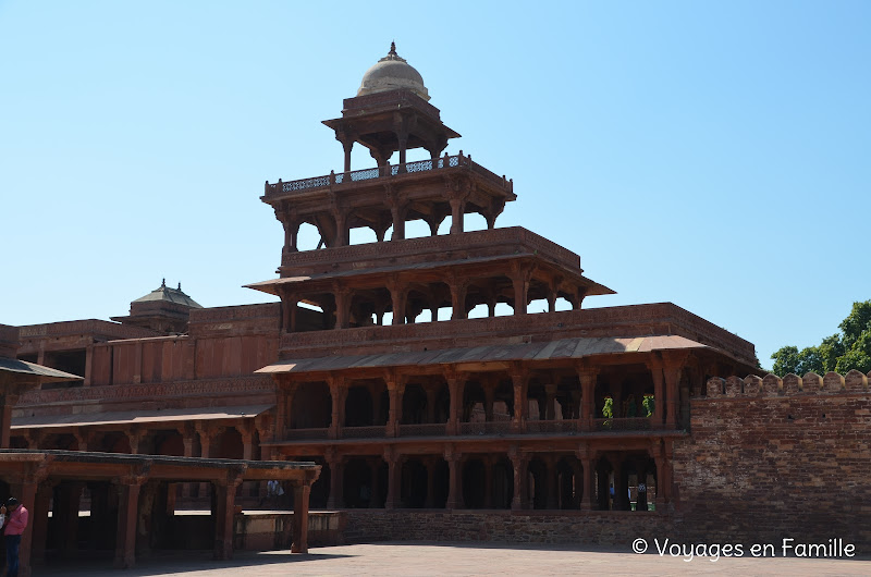 Panch mahal Fatehpur sikri