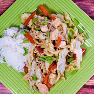 Asian-Style Salmon Stir-Fry