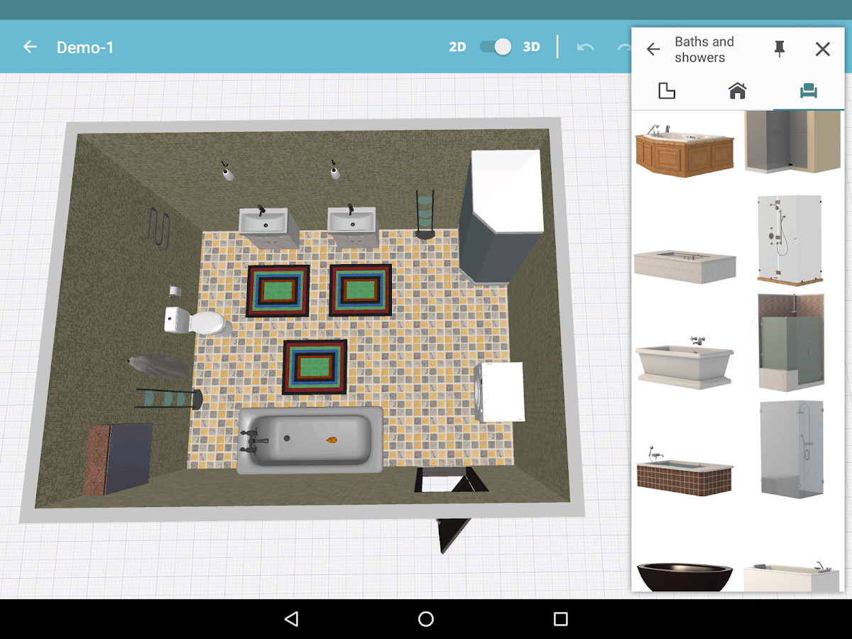 Bathroom design android apps on google play for Bathroom design simulator