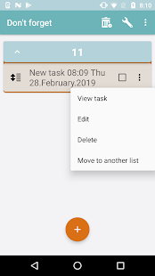 Don't forget: to-do list - náhled