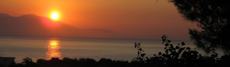 Photo: Καλοκαιρινό ξημέρωμα στον Κορινθιακό