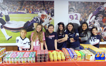Photo: The kare kits team - Emily, Olivia, Ava, Kylee, Mia, Brenda & Chloe- preparing to pack kare kits while being filmed by Channel 4 producer Ken Tucci on March 29, 2013.