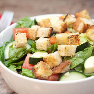 Sourdough Herbed Croutons