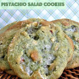 Pistachio Salad Cookies