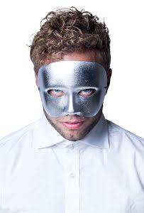 Ögonmask, casanova silver