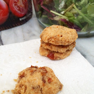 Low Carb Sundried Tomato Shortbread