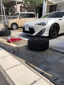 86 ZN6 H24年式  GTのタイヤのカスタム事例画像 h1g@5h1-Rさんの2018年09月28日11:21の投稿