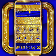 Download App Cobalt and Gold Launcher Theme
