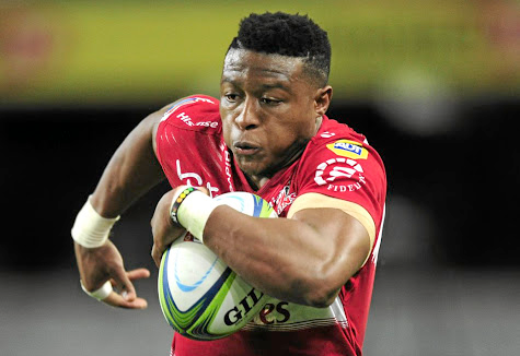 Speedster: Aphiwe Dyantyi is back on the wing for the Lions when they play the Jaguares in a Super Rugby quarterfinal at Ellis Park on Saturday. Picture: GERHARD DURAAN/ BACKPAGEPIX
