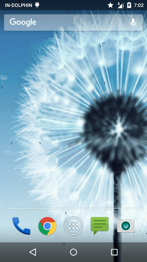 Magic Neo Wave : Dandelion LWP- screenshot
