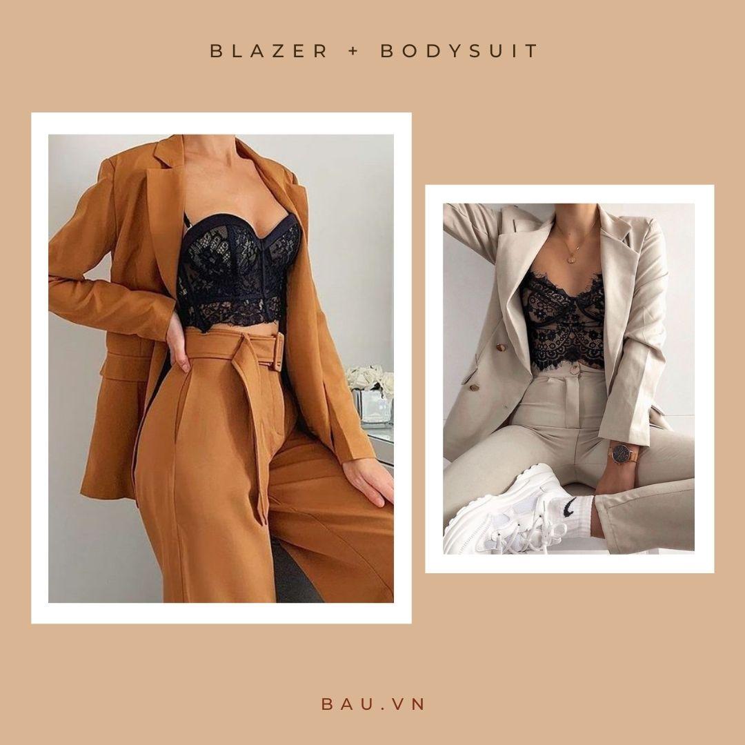 6 outfit kết hợp với blazer cho các nàng trở nên sang - xịn - mịn - ảnh 1