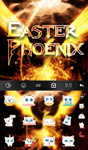 Download Easter Phoenix Keyboard Theme MOD APK 5