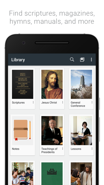 Gospel Library- screenshot