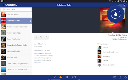 Pandora® Radio - screenshot thumbnail