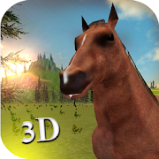 Horse Simulator 3d Animal Game: horse adventure