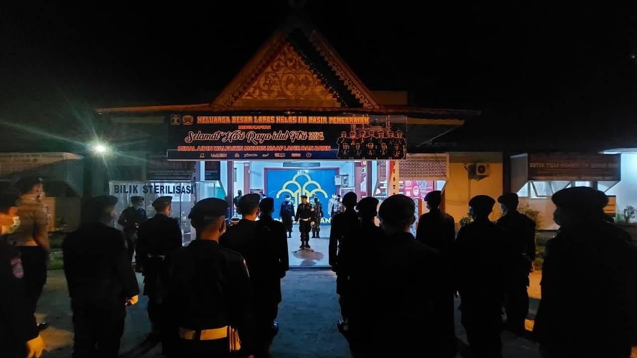 Komitmen Ciptakan Kamtib Tim Gabungan TNI – POLRI Lakukan Penggeledahan Di Lapas IIB Pasir Pengaraian