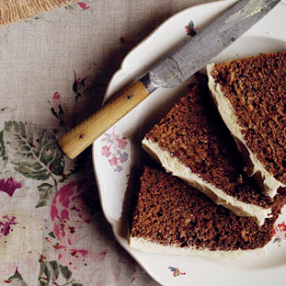 Ginger Cake with Fudgy Frosting