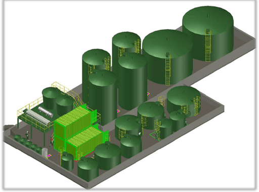 Modular wastewater treatment system