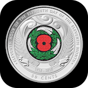 RBNZ Armistice Day Coin‏