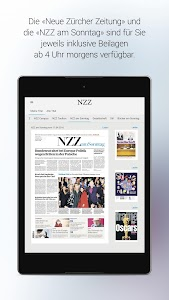 NZZ E-Paper screenshot 11