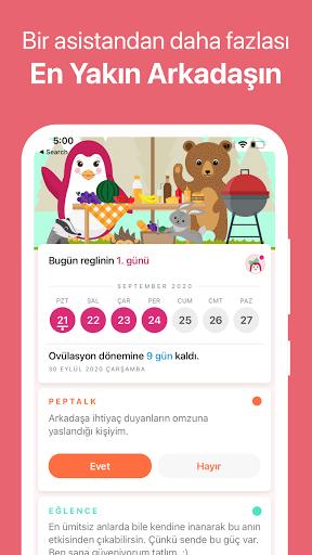 Pepapp❣️ Period Tracker & Menstrual Cycle Calendar screenshot 3