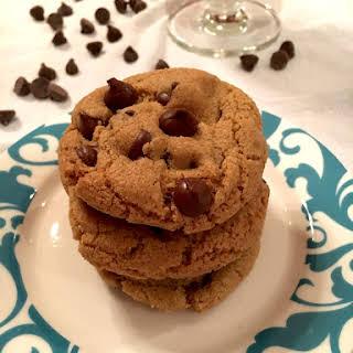 One Bowl Gluten Free Chocolate Chip Cookies (Half Batch).