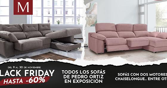 Black Friday: los mejores sofás con la calidad y garantía de Muebles Mago