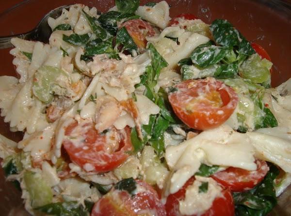 Smoked Mackerel, Greens & Pasta Salad Recipe